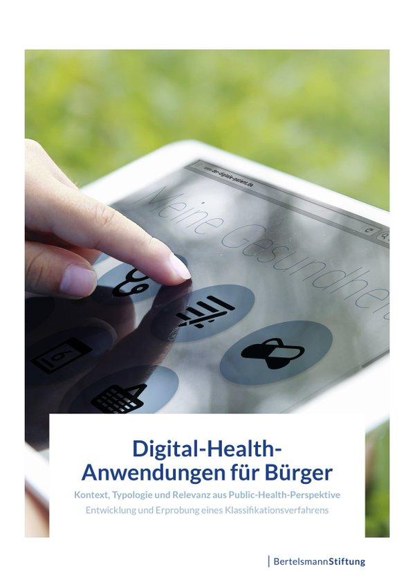 Digital Health für Bürger_Titelblatt