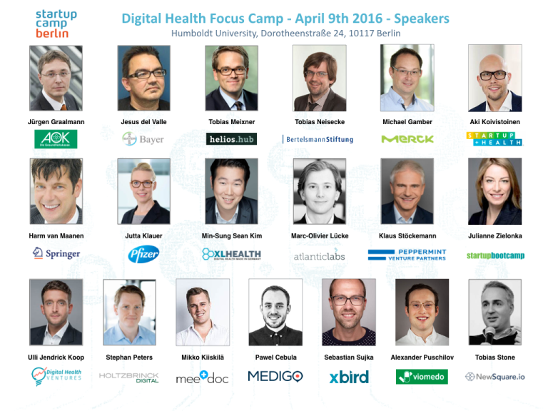 Speaker Digital Health Focus Camp 2016